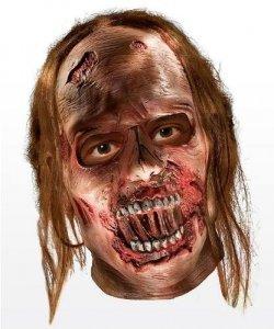Maska lateksowa - The Walking Dead Zombie III