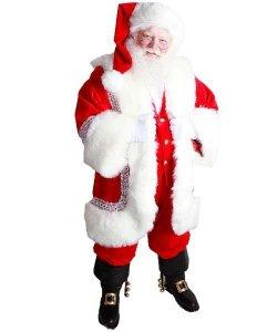 Profesjonalny strój Świętego Mikołaja - Św. Mikołaj Premium XII