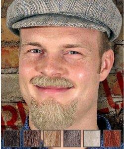 Naturalne wąsy & broda - Lenin