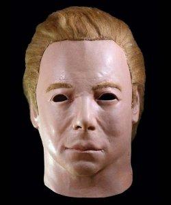Maska lateksowa - Star Trek Kapitan Kirk 1975