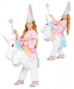 Pneumatyczny kostium dla dziecka Carry Me - Jednorożec