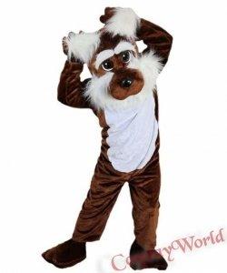 Chodząca żywa duża maskotka - Pies Terier
