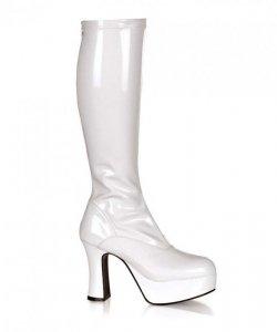 Buty - Białe Platformy Amidala