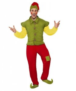 Profesjonalny kostium świąteczny - Bożonarodzeniowy Elf