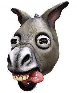 Maska lateksowa - Osioł