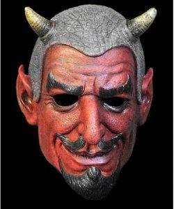 Maska lateksowa - Mefistofeles