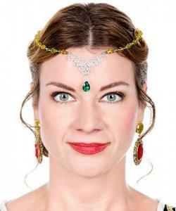 Ozdoba na włosy - Królowa Elfów