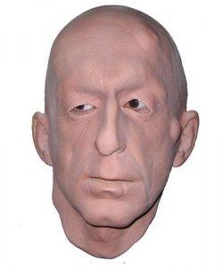 Maska lateksowa - Mnich