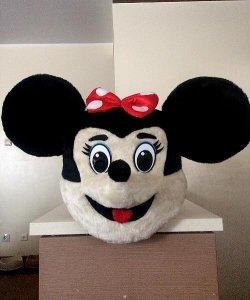 Głowa chodzącej maskotki - Myszka 2