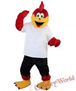 Chodząca żywa duża maskotka - Ptaszek Kibic
