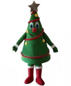 Strój chodzącej maskotki - Bożonarodzeniowa Choineczka 2
