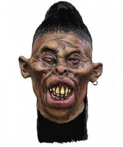 Dekoracja na Halloween Miniaturowa głowa Tsantsa Carlos