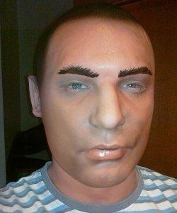 Maska lateksowa - Ali