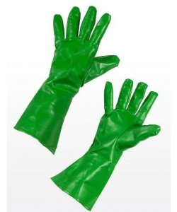Rękawice - Superbohater Zielone