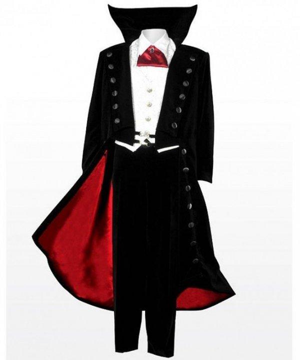 Strój wampira Hrabia Drakula XL