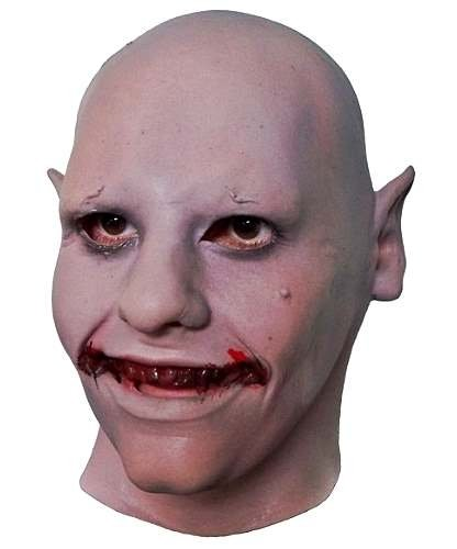 Maska lateksowa - Vampire Kid (Glow)
