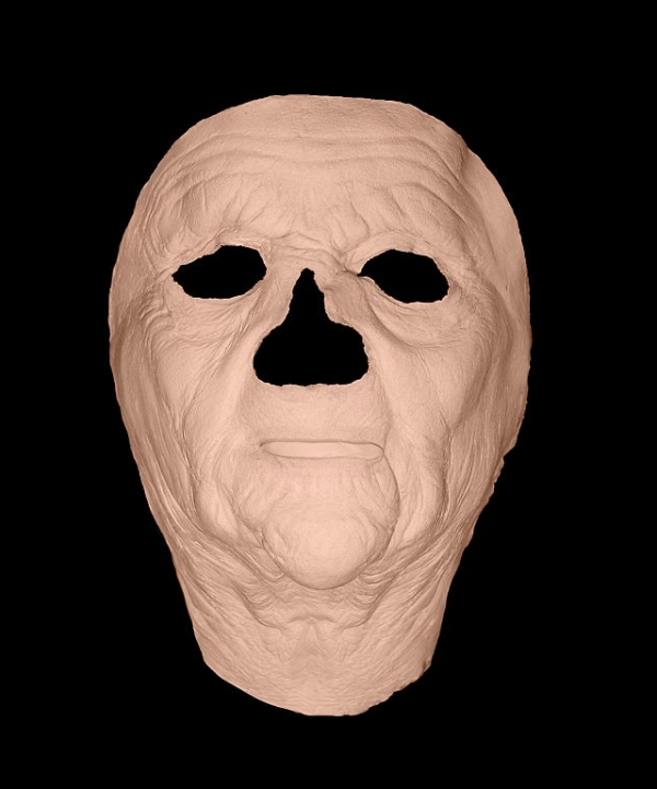 Maska klejona na twarzy - Staruszka Deluxe