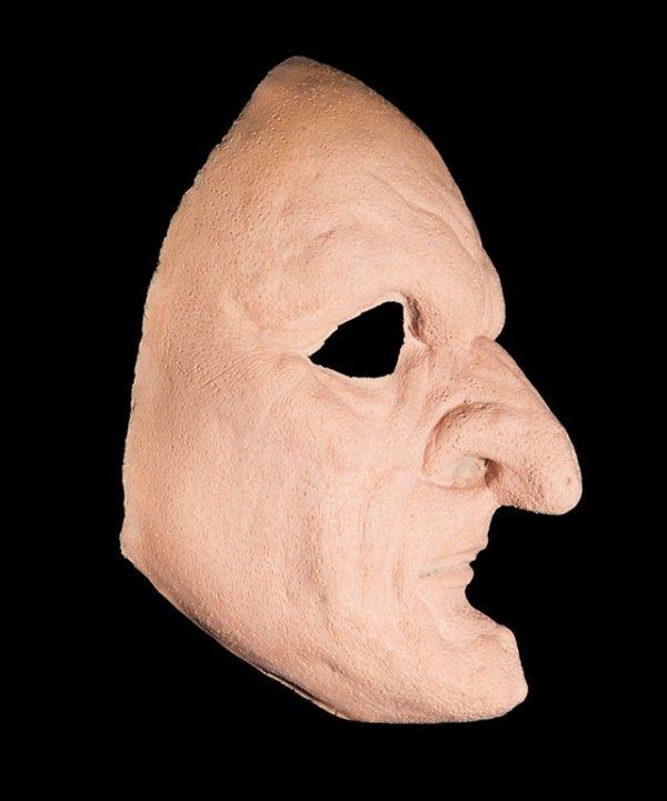 Maska klejona na twarzy - Czarownica Deluxe