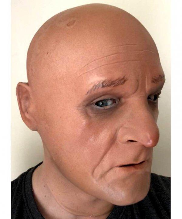Maska lateksowa na twarz staruszek