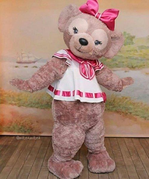 Strój chodzącej maskotki Miś Dziewczynka Teddy