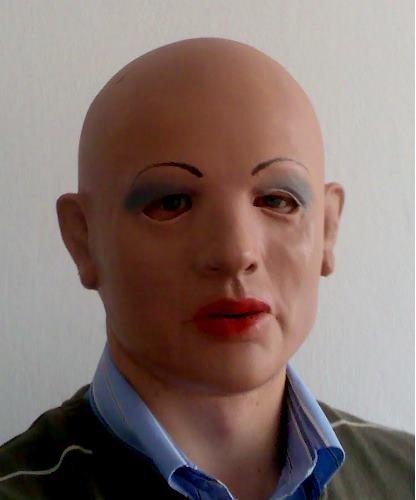 Maska lateksowa - Kim