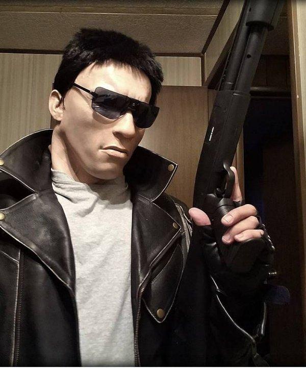 Maska Arnold Schwarzeneger Terminator