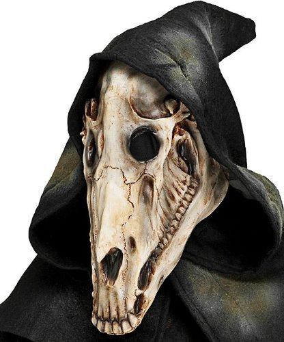 Maska lateksowa - Koń Demon