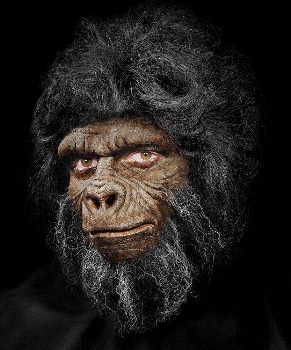 Maska małpy efekty FX