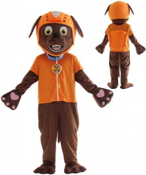 Kostium reklamowy chodząca żywa duża maskotka mega strój Psi Patrol Zuma