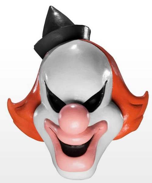 Maska lateksowa - Scooby Doo Ghost Clown Deluxe