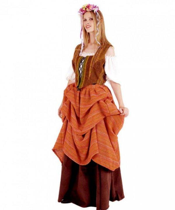 Kostium teatralny - Średniowieczna Chłopka