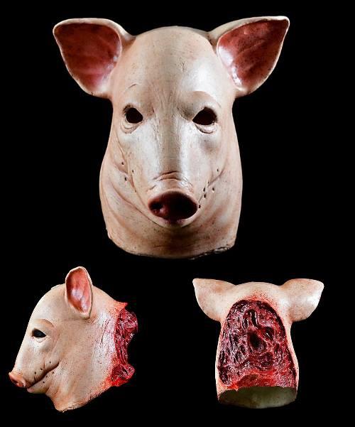 Maska lateksowa - The Saw Pig Deluxe