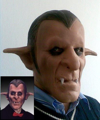 Maska lateksowa - Dracula