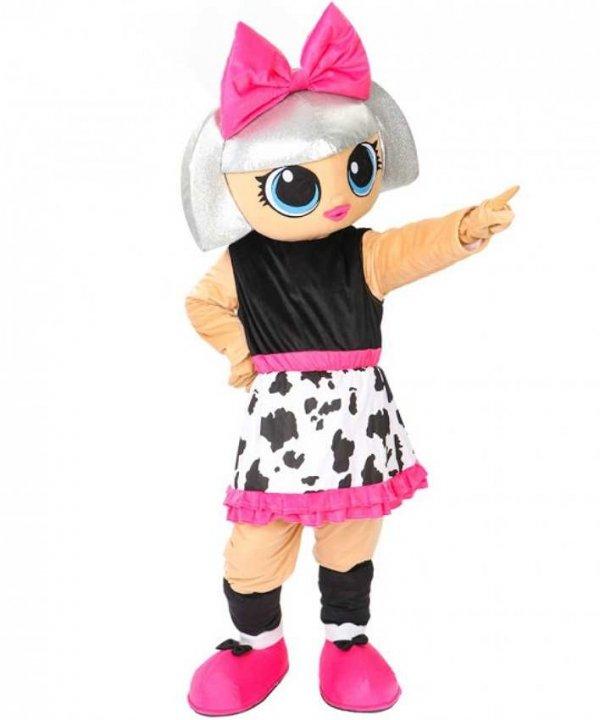 Żywa Maskotka Kostium reklamowy na event Strój promocyjny LOL Doll Suprise Diva
