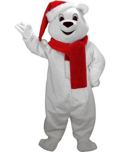 Kostium świąteczny - Bożonarodzeniowy Miś Polarny Deluxe