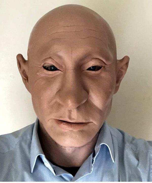Maska lateksowa - Władymir