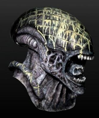 Maska lateksowa - Alien