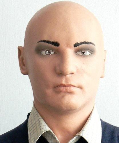 Maska lateksowa - Bruno