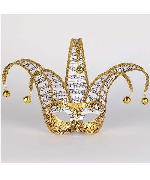 Maska wenecka - Colombina Jolly Musica