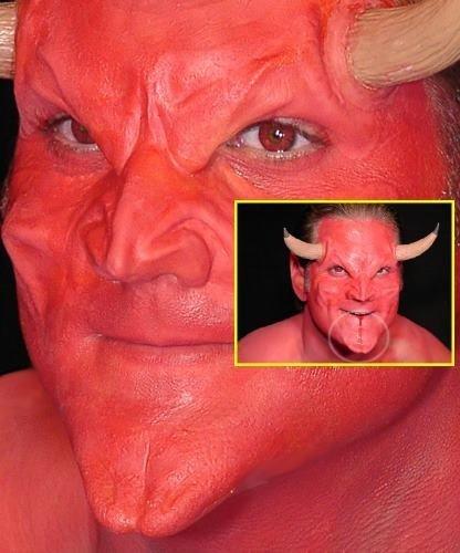Zestaw do charakteryzacji - Diabeł