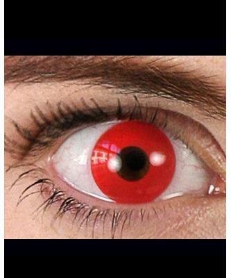 Szkła kontaktowe - Diabeł