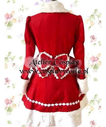 Kostium świąteczny - Wiktoriański płaszczyk