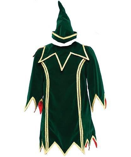 Profesjonalny kostium świąteczny - Elf Deluxe
