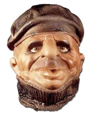 Maska lateksowa - Wilk Morski