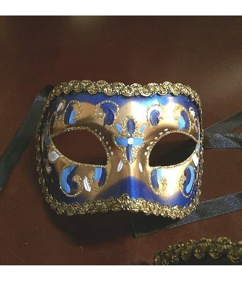 Maska wenecka - Colombina BlueMania