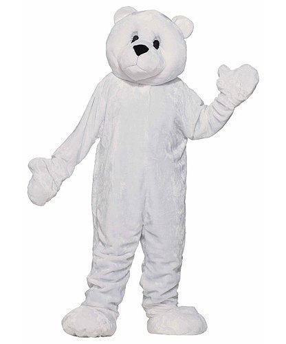 Chodząca maskotka - Miś Polarny