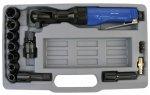 ADLER Zestaw-klucz zapadkowy 1/2 61Nm + nasadki 9-19mm