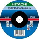 HITACHI Tarcza do szlifowania stali 115x6x22,2mm wypukła - PREMIUM