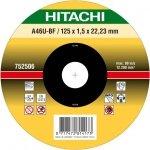 HITACHI Tarcza do cięcia metalu INOX 125x1x22,2mm płaska - PREMIUM