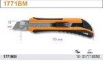 Beta 1771BM Nóż z ostrzem chowanym 6 ostrzy zapasowych